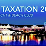 Banner advertising the 2018 TeleStrategies Communications Taxation Conference in Orlando, Florida